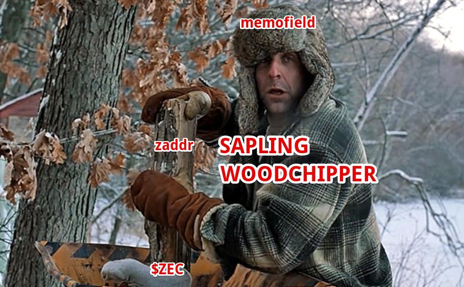 Sapling Woodchipper